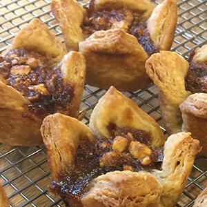 Walnut tarts